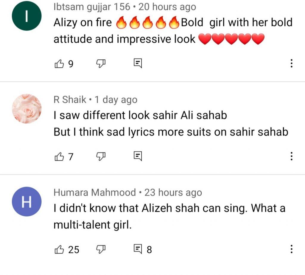Alizeh Shah Has Made Her Singing Debut With Sahir Ali Bagga