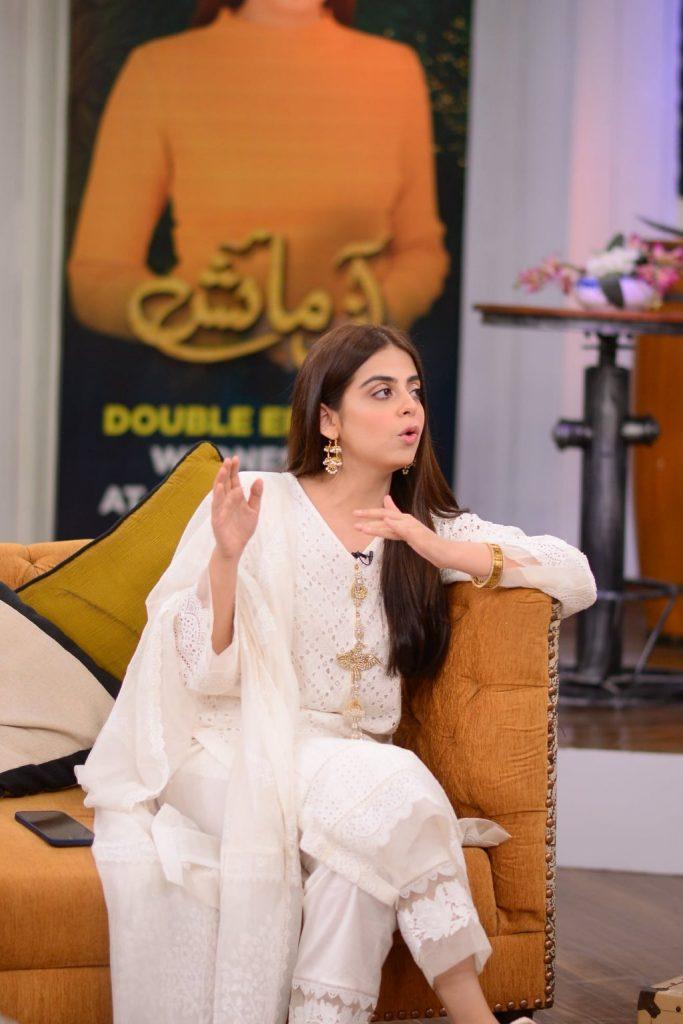 Kinza Hashmi & Yashma Gill Talk About Their Characters In Azmaish