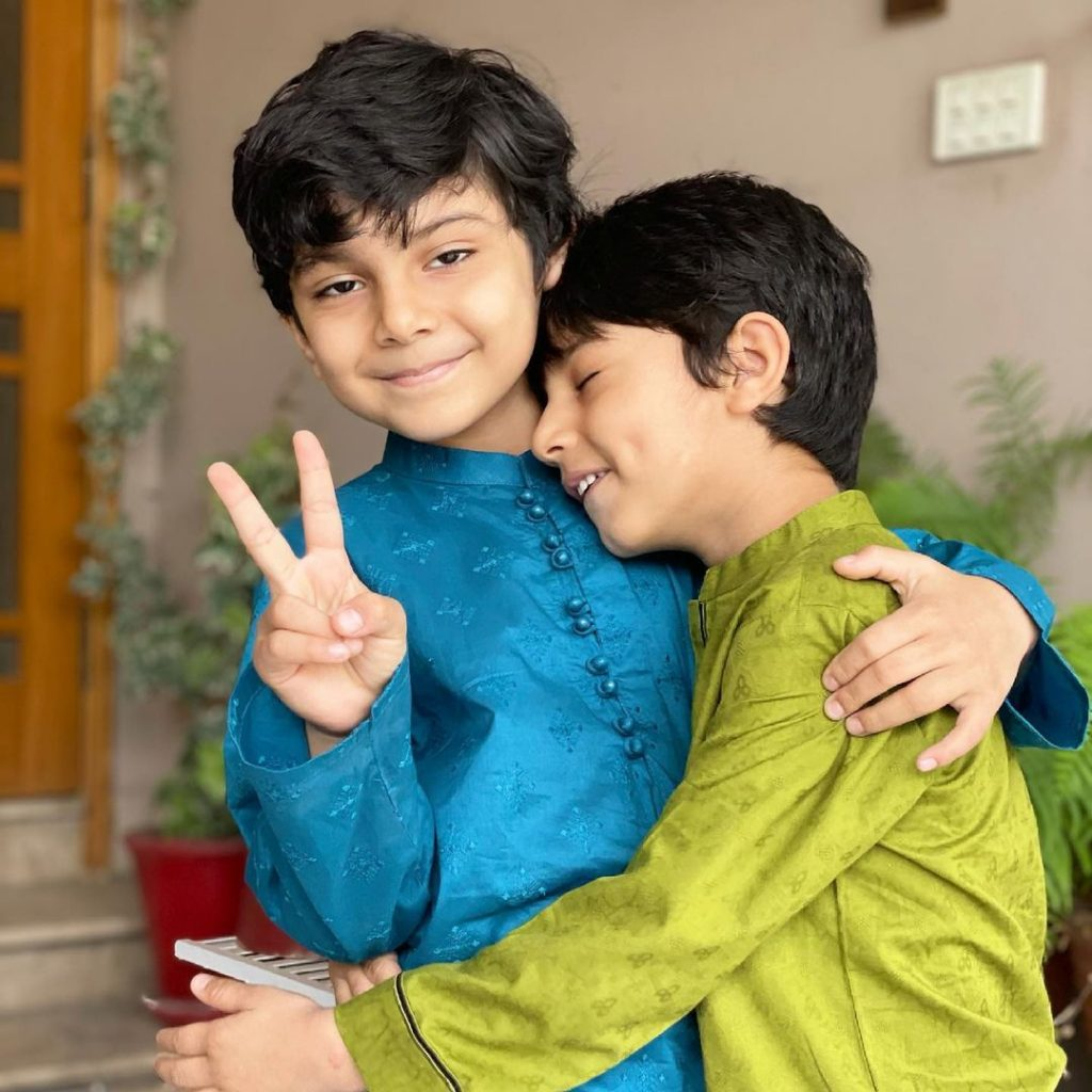 Zahid Ahmed Beautiful Family Pictures