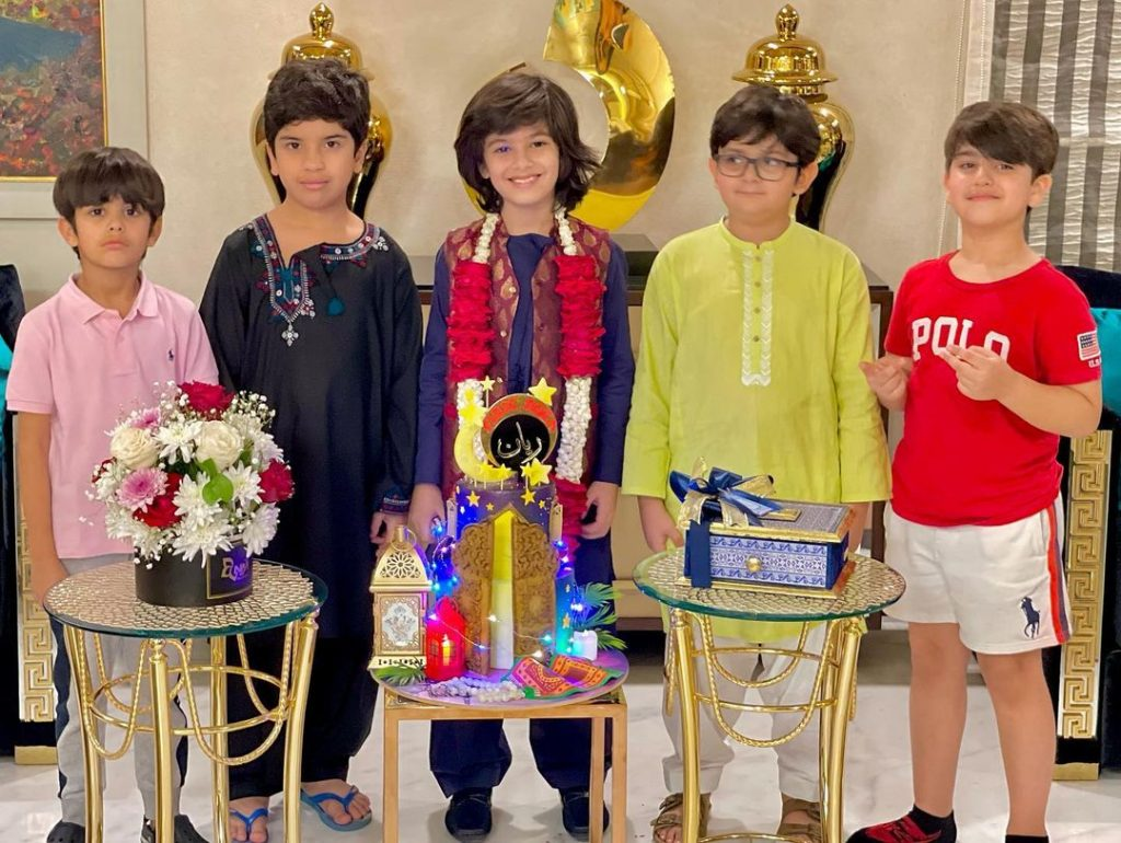 Abdullah Kadwani Shared Adorable Picture From His Son's First Roza