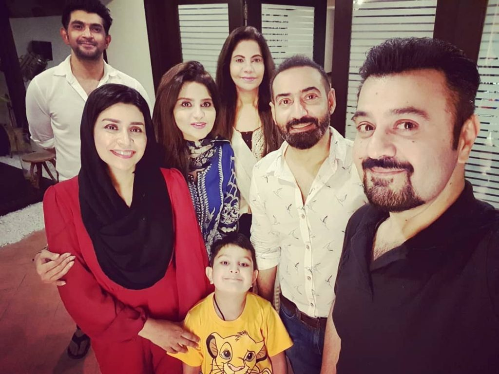 Ahmed Ali Butt And Fatima Khan At Iftar Dinner With Friends