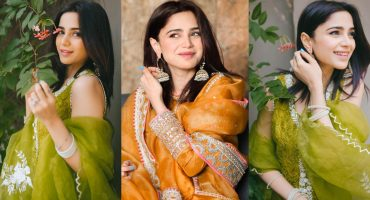Aima Baig's Gorgeous Looks From Eid-ul-Fitr 2021