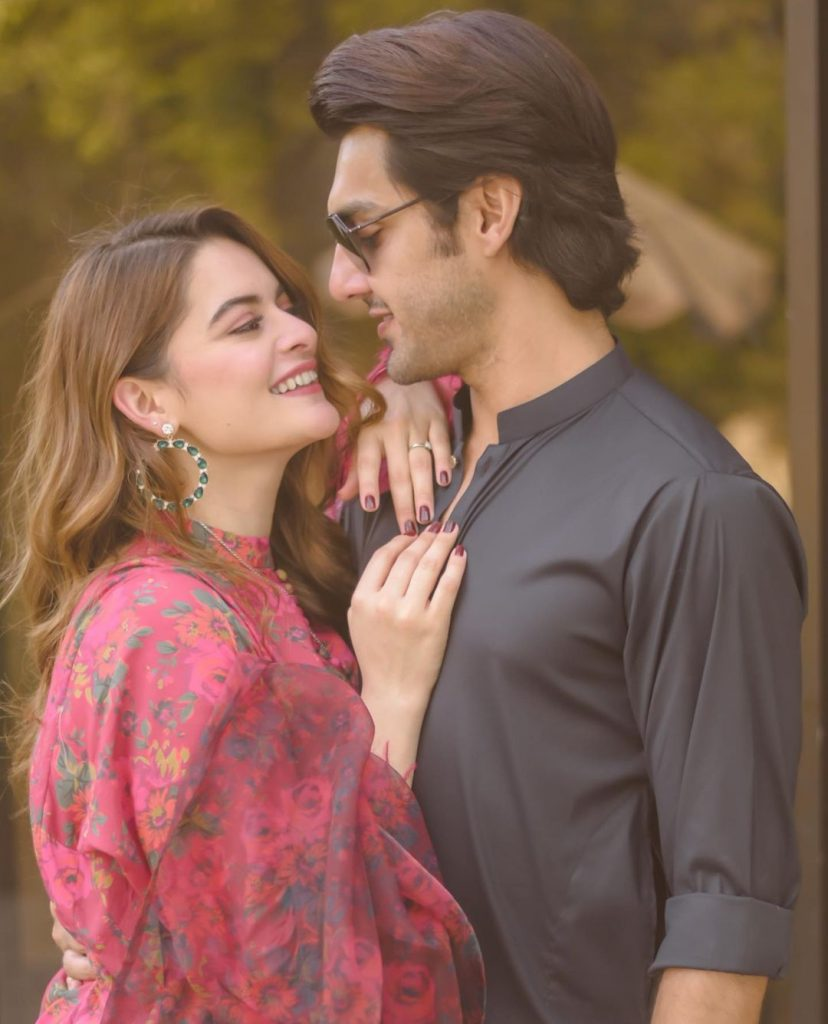 Aiman Khan Has A Request For Ahsan Mohsin Ikram