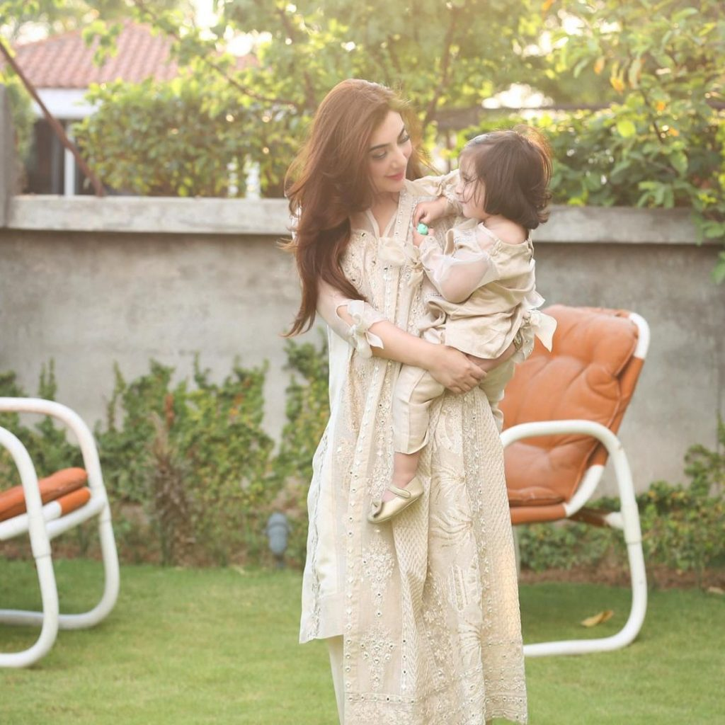 Aisha Khan With Her Daughter Mahnoor- Latest Pictures