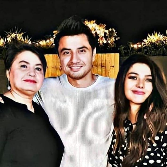 Ali Zafar's Birthday Celebration With Family And Friends