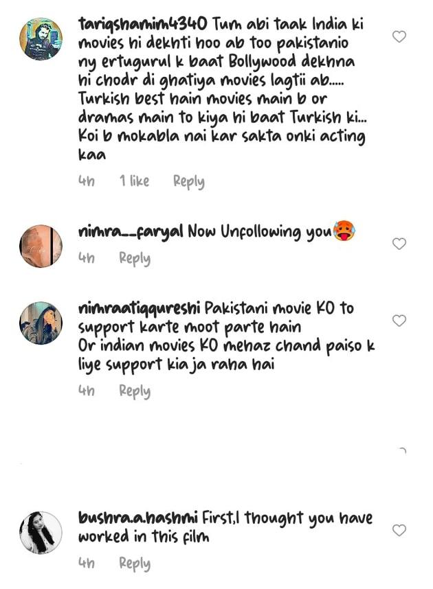 Netizens Criticize Areeba Habib For Promoting Indian Content