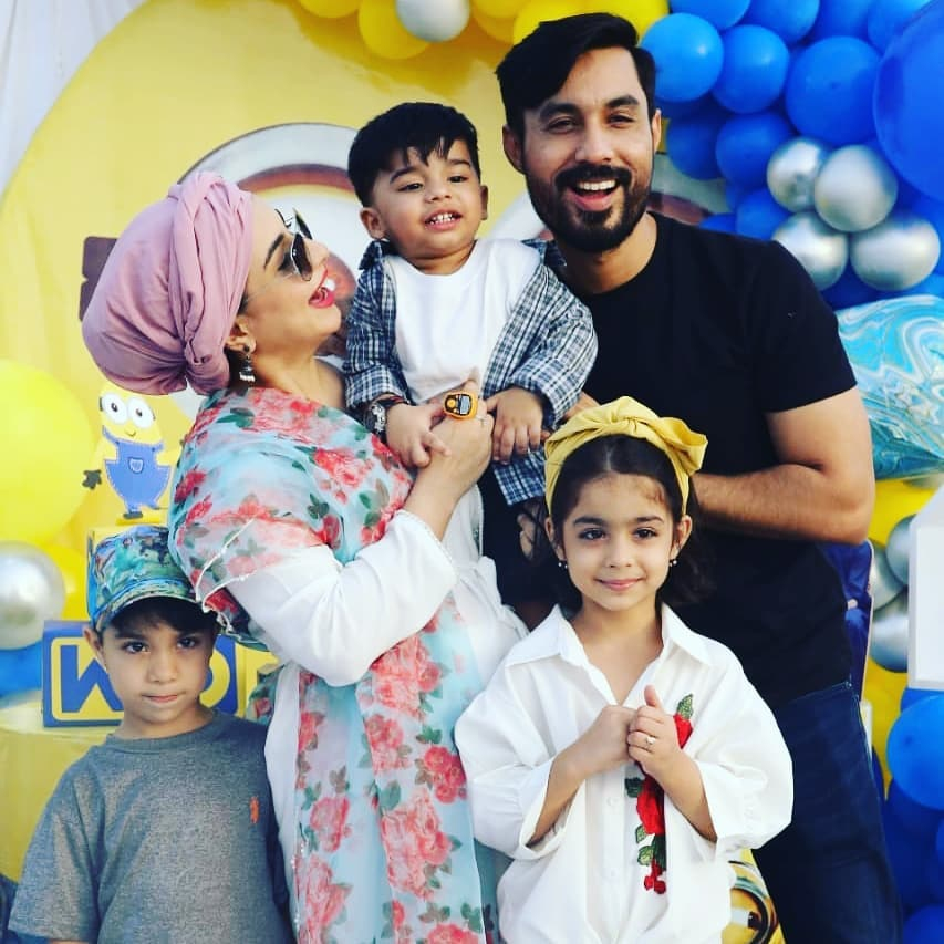 Ayaz Samoo's Son Turned Two - Beautiful Birthday Pictures