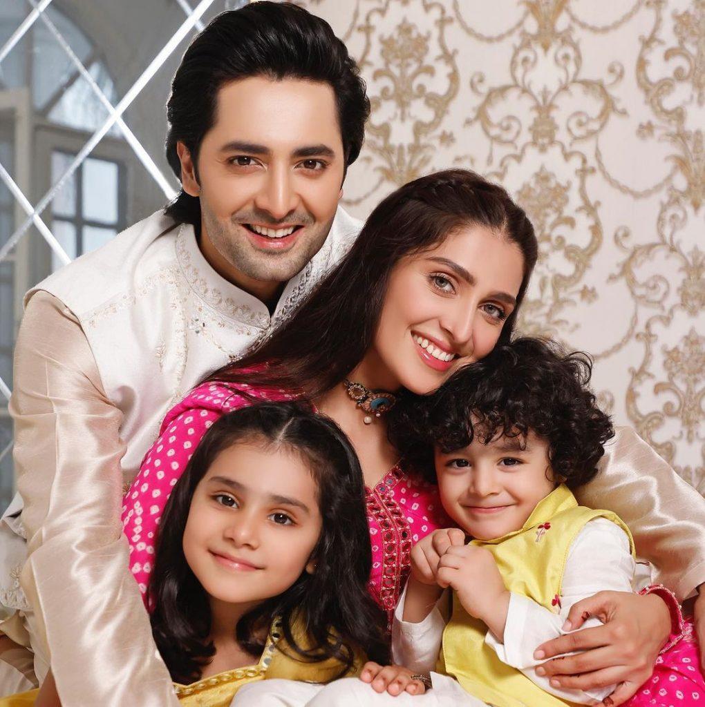 Celebrities Openly Gossiping About Ayeza Khan