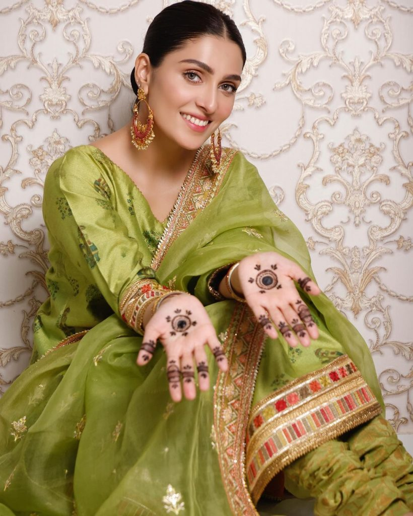 Ayeza Khan Is All Ready To Celebrate Eid