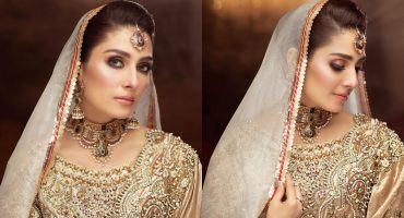 Ali Xeeshan Bridal Photoshoot Featuring Ayeza Khan