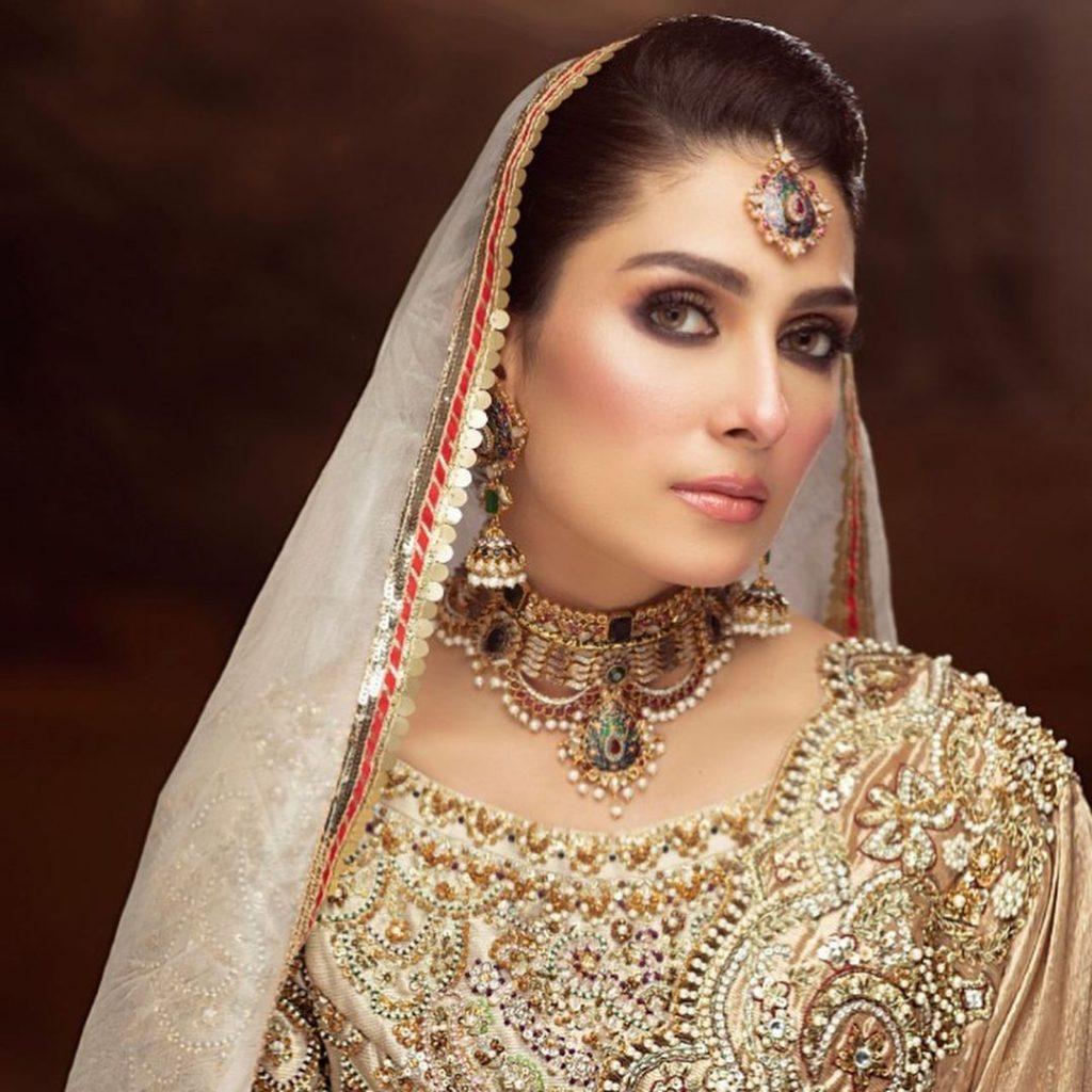 Ali Xeeshan Bridal Photoshoot Featuring Ayeza Khan