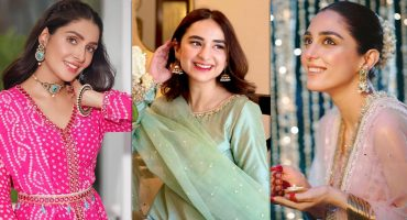 Best Dressed Pakistani Celebrities on Eid 2021