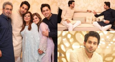 Bilal Abbas Khan Spent Joyous Eid With His Family