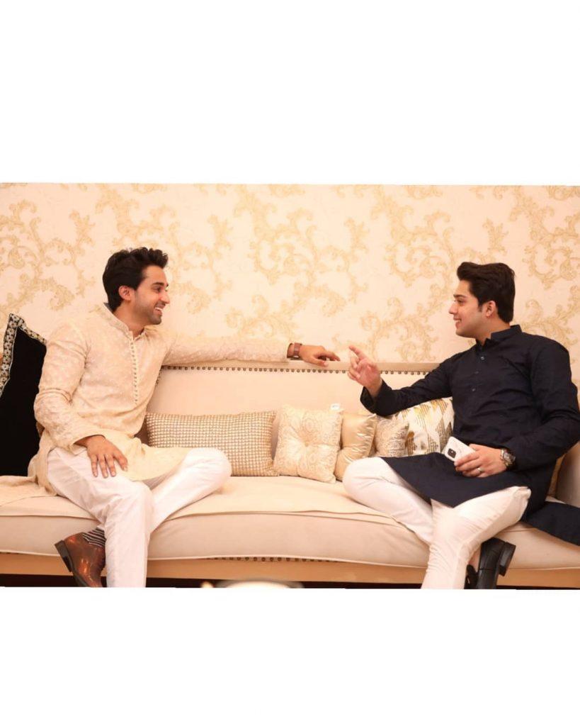 Bilal Abbas Khan Spent Joyous Eid With His Family