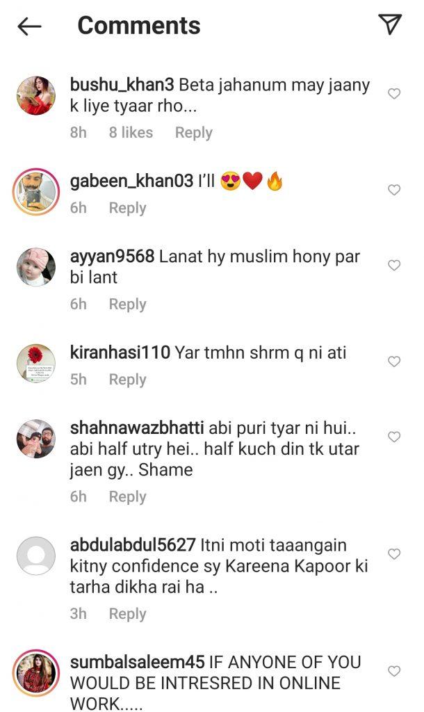 Public Criticism On Maira Khan's Bold Pictures
