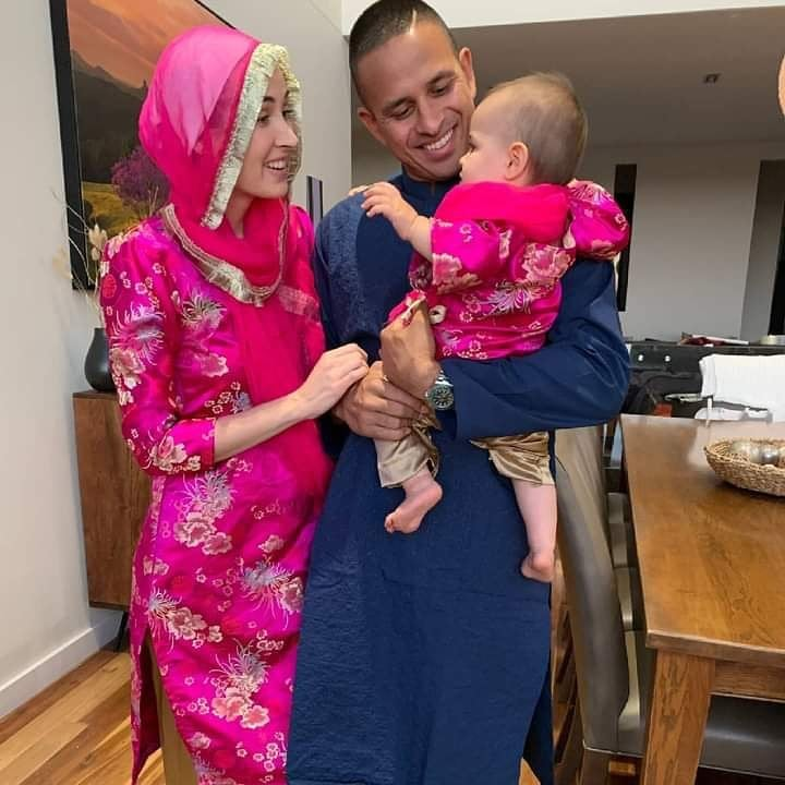 Beautiful Pictures Of Famous Cricketers Celebrating Eid With Their Families