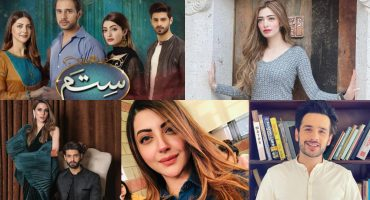 """Drama Serial """"Sitam"""" - Cast In Real Life"""