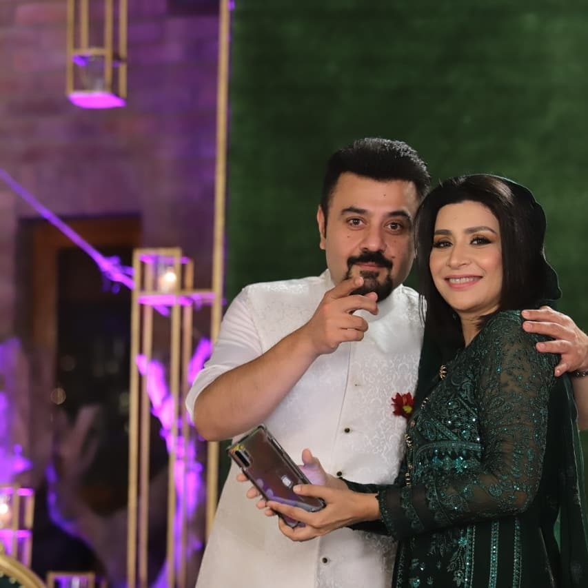 Celebrities Spotted On The Set Of Eid Show 2021