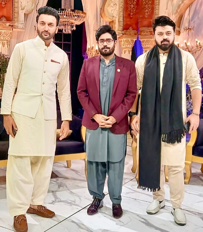 Beautiful Pictures Of Celebrities From The Set Of Eid Show 2021