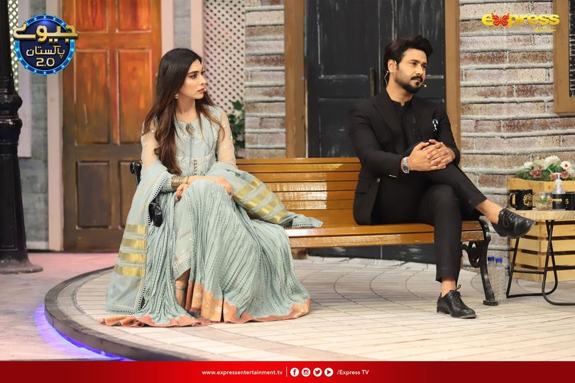 Eshal Fayyaz And Ali Abbas Pictures From Jeeway Pakistan
