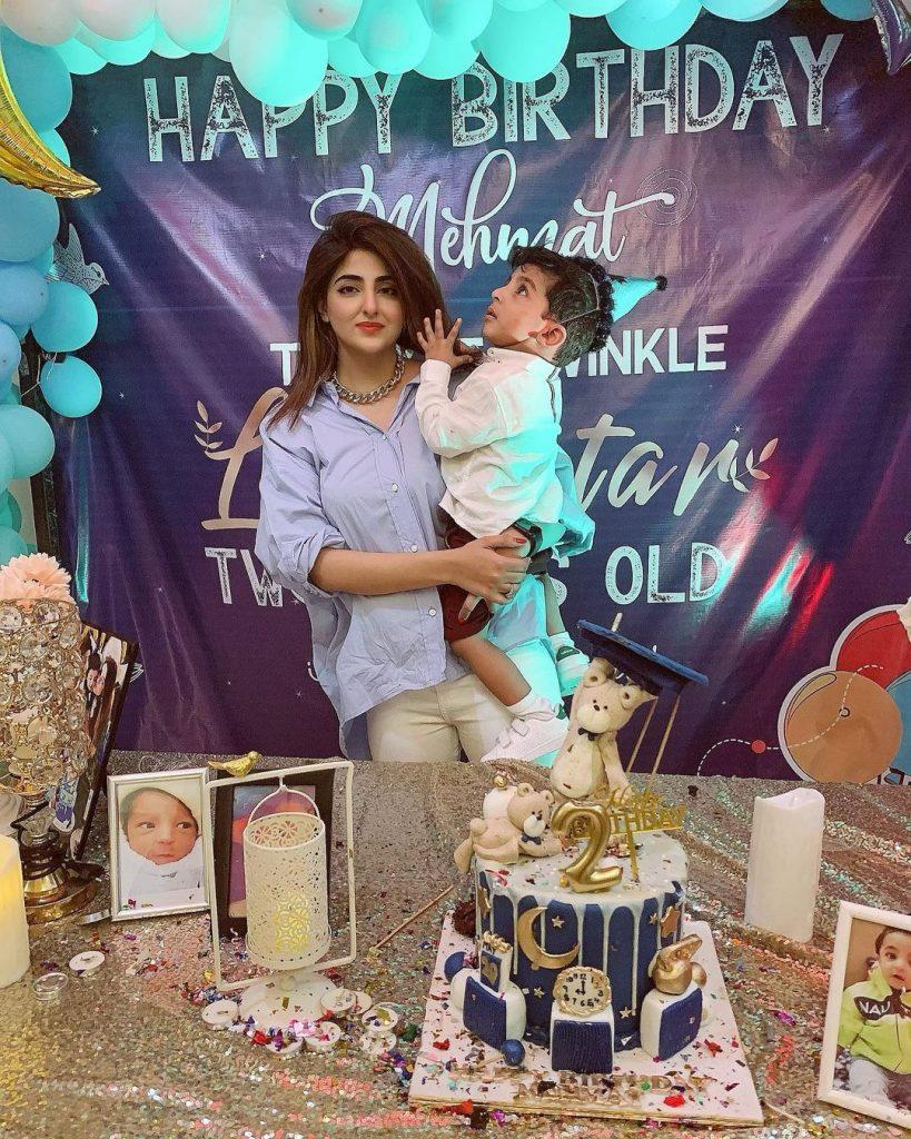 Fatima Sohail Celebrates Second Birthday Of Her Son Mehmat
