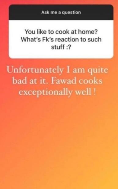 Sadaf Fawad Revealed The Hidden Talent Of Fawad Khan