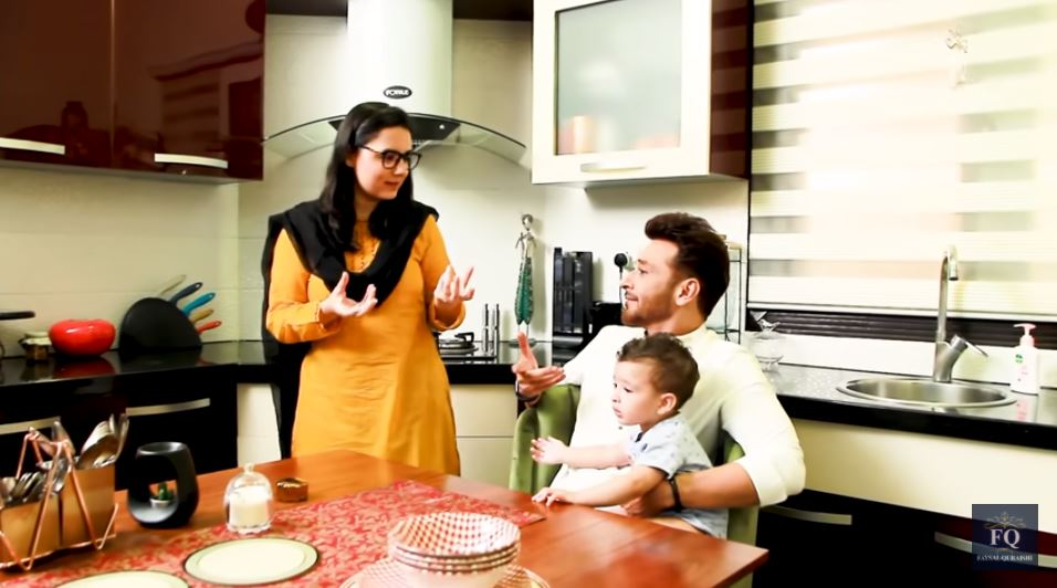 Beautiful Pictures Of Faysal Quraishi And His Family Enjoying Sehri Together