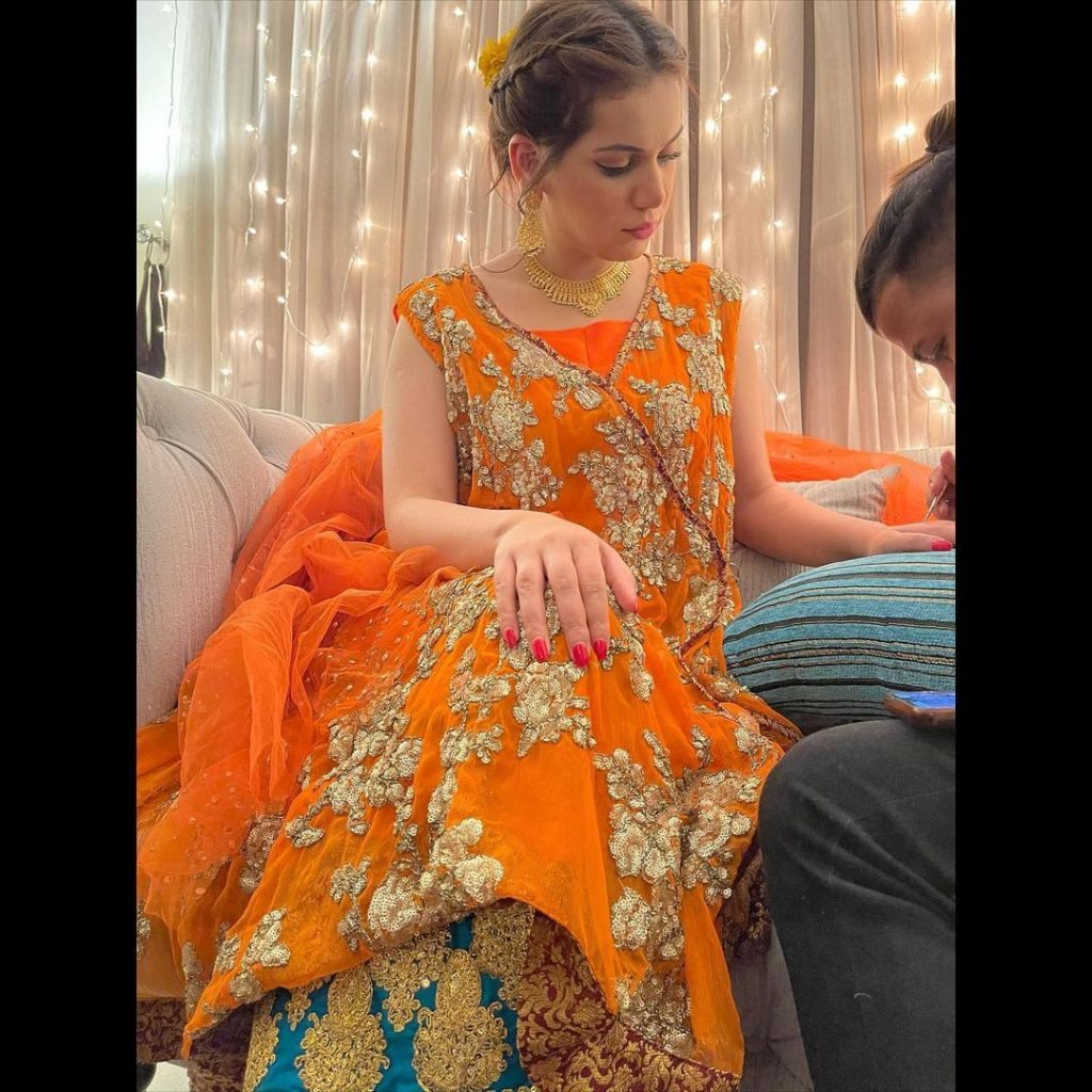 Ghana Ali Beautiful Pictures from Her Nikkah