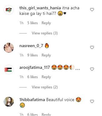 People Going Gaga Over Hania Aamir's Cover Of Heart Break Anniversary