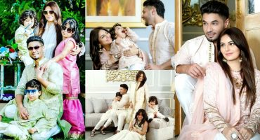 Hasan Rizvi With His Family- Adorable Eid Photoshoot