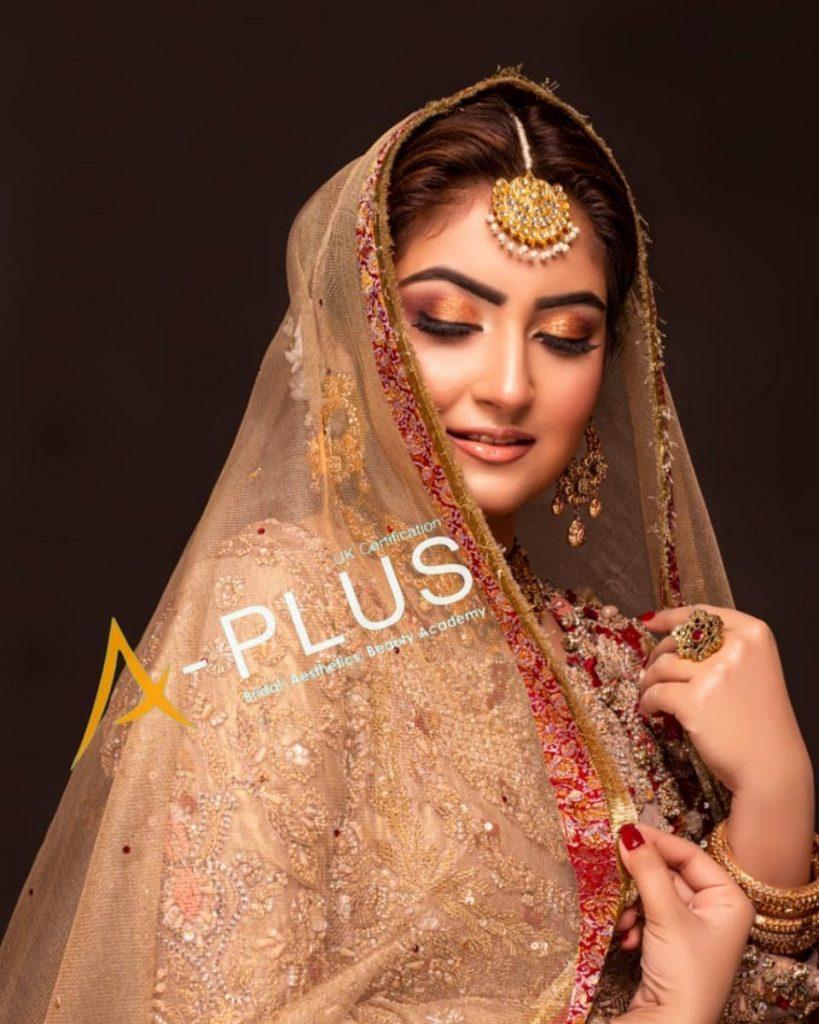 Hiba Bukhari Looks Radiant In A Traditional Bridal Attire