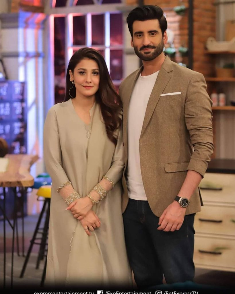 Hina Altaf And Agha Ali Revealed When They Fell In Love