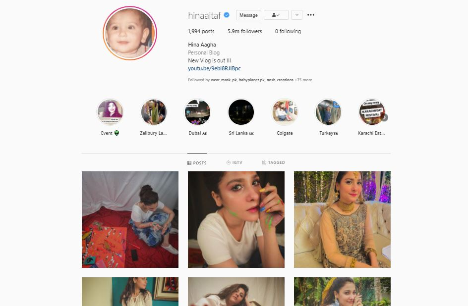 Hina Altaf And Agha Ali Unfollowed Each Other On Instagram