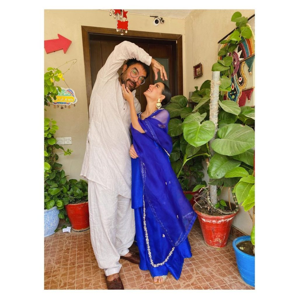 Parents To Be Iqra Aziz And Yasir Hussain- Beautiful Eid Pictures
