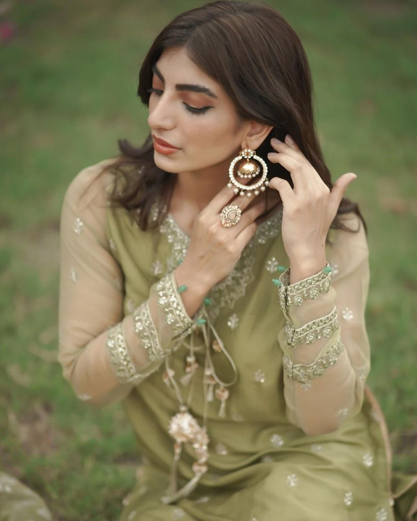 Maryam Ansari And Owais Khan Eid Day Pictures