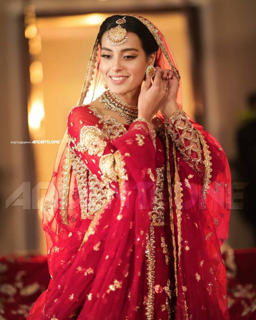 Iqra Aziz Bridal Look From Khuda Aur Mohabbat