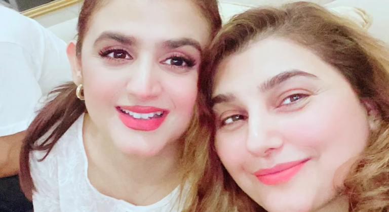 Javeria Saud Hosted A Sehri Night For Hira Mani