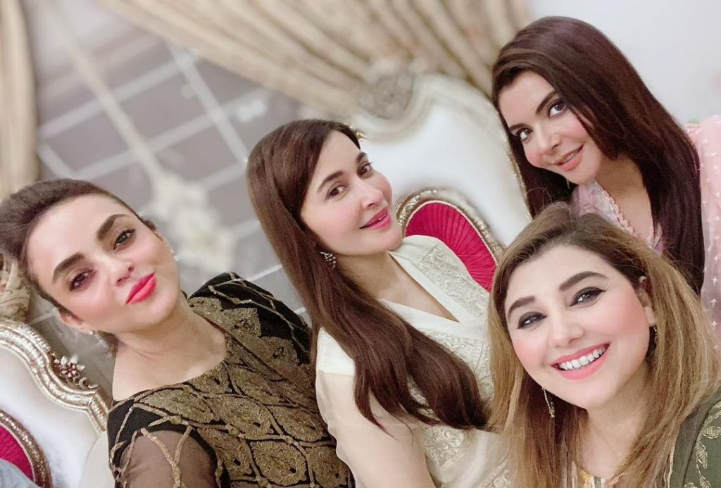 Javeria And Saud Hosted Eid Dinner For Close Friends