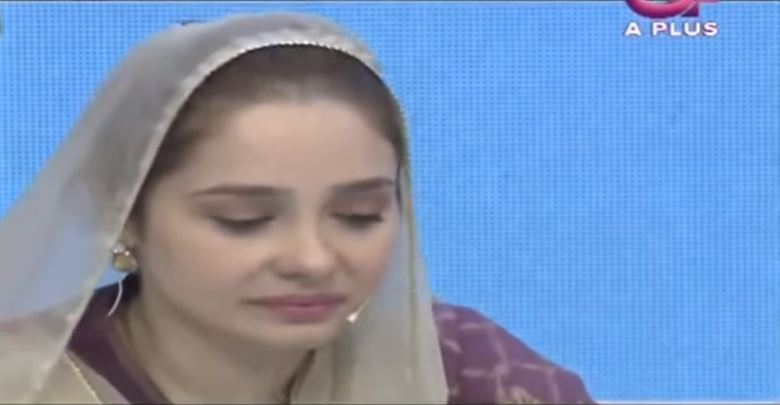 Juggun Kazim Got Emotional During A Live Show