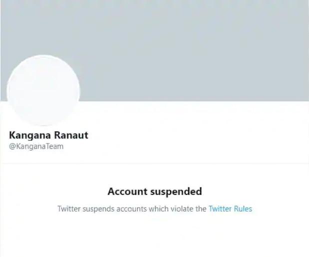 Public Went Gaga Over The Action Taken Against Kangana Ranaut Twitter Account
