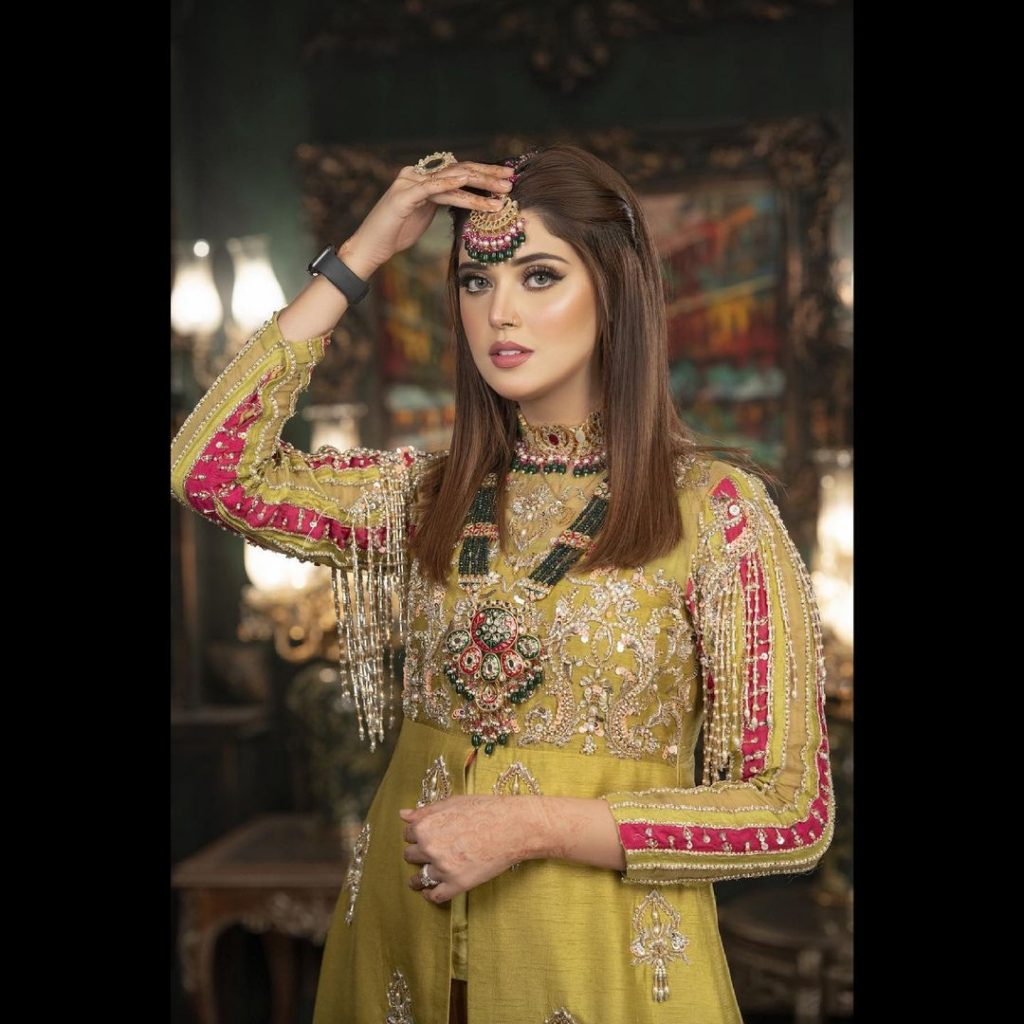 Kanwal Aftab Dolled Up In A Gorgeous Bridal Attire