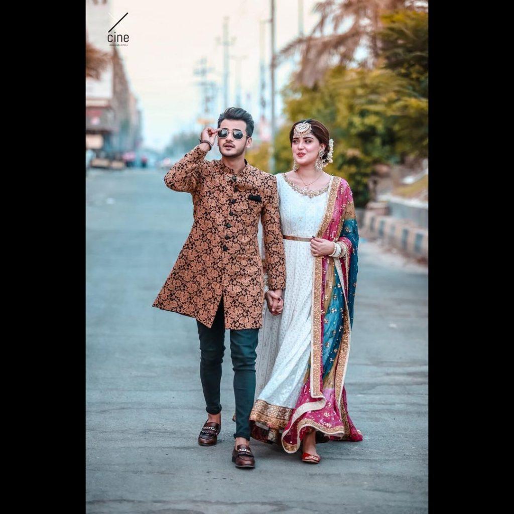 Kanwal Aftab And Zulqarnain Sikandar Pose For A Loved-Up Photoshoot