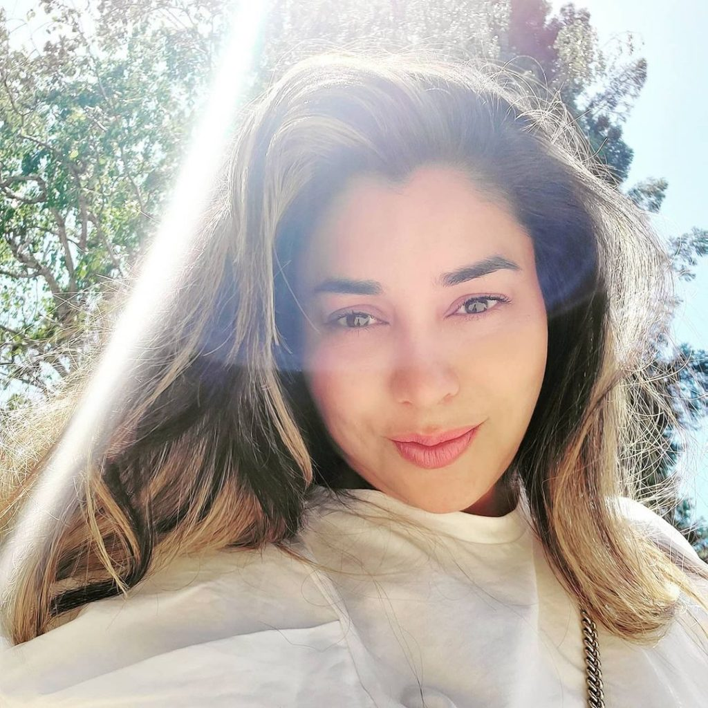 Komal Rizvi Beautiful Pictures From California