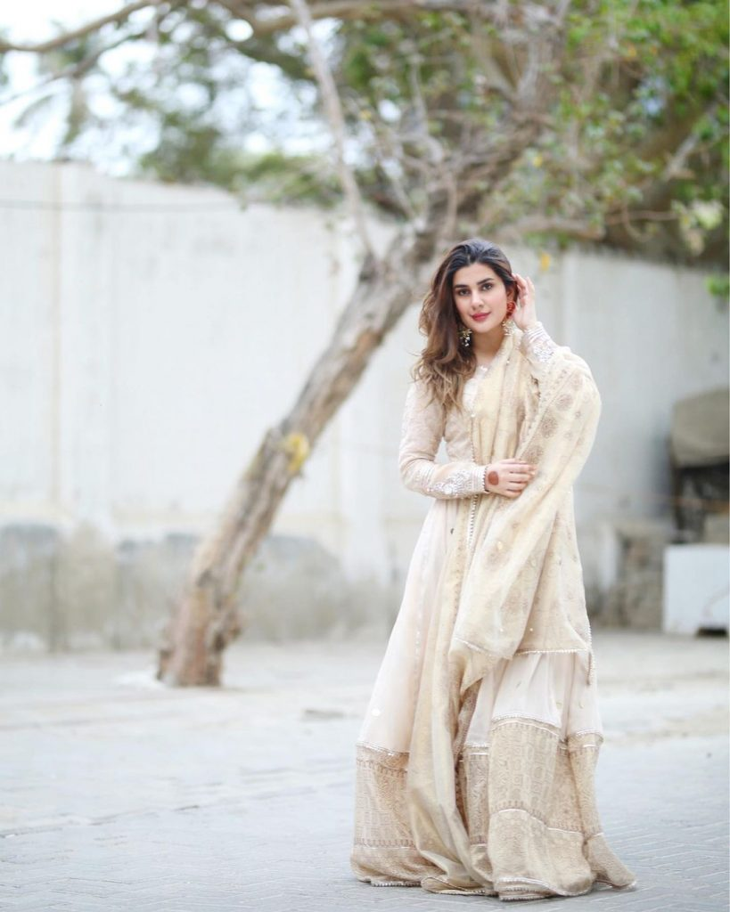 Kubra Khan Shared Adorable Pictures From Eid-ul-Fitr 2021