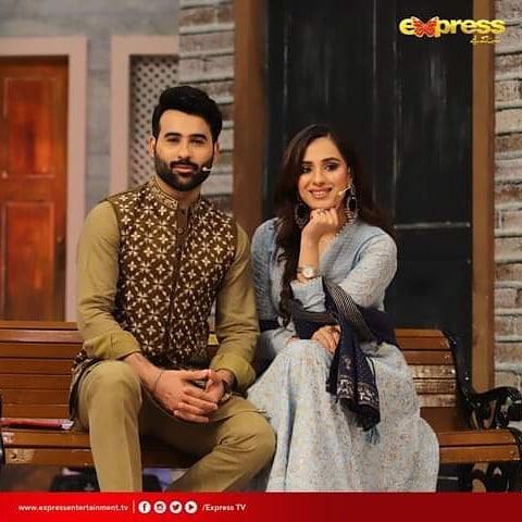 Celebrity Couple Maham Aamir And Faizan Sheikh At Jeeway Pakistan