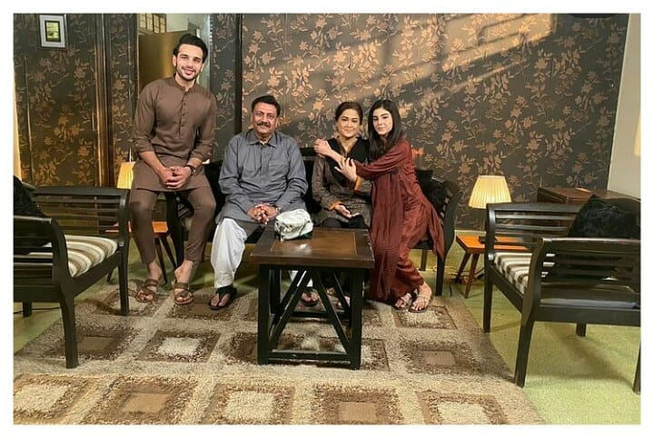 Fun BTS Pictures From The Sets Of Upcoming Drama Mere Apne