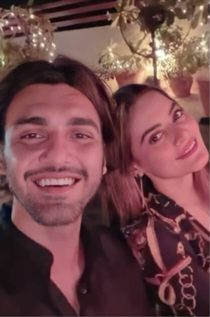 Minal Khan And Ahsan Mohsin Ikram Faces Criticism On Their Recent Pictures