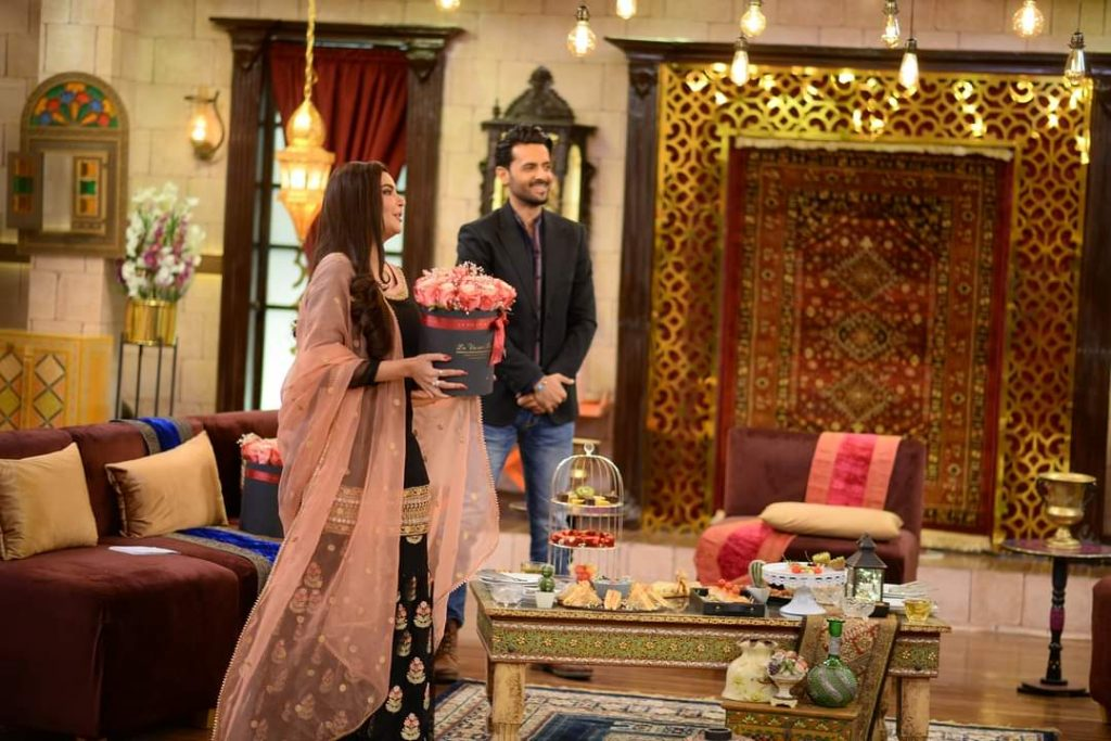 Mahira Khan And Mohib Mirza Pictures From GMP Shaan-e-Suhoor
