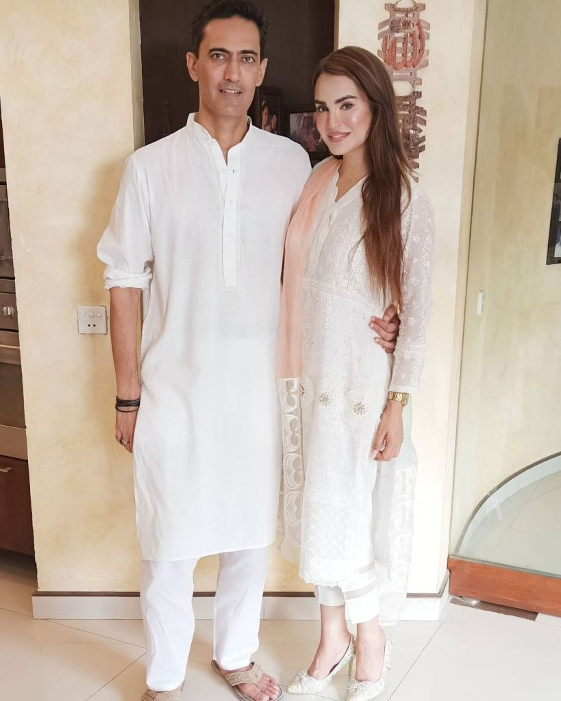 Eid Pictures Of Nadia Hussain And Her Family