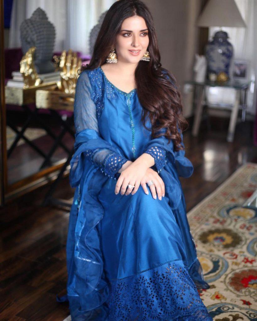 Natasha Khalid's Beautiful Pictures With Her Family Celebrating Eid